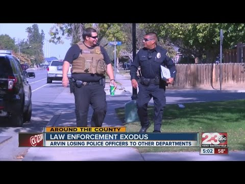 Plan to recruit and retain Arvin Police Officers