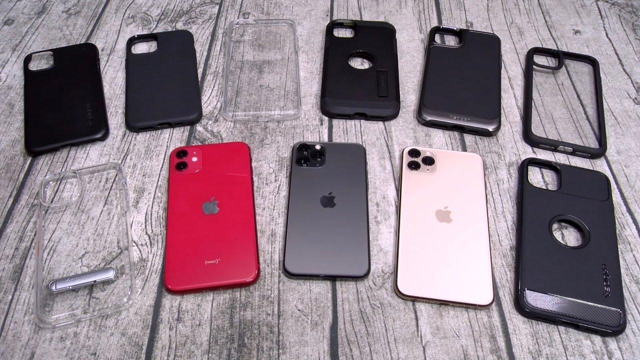 iPhone 11, 11 Pro, Pro Max - Spigen Case Lineup