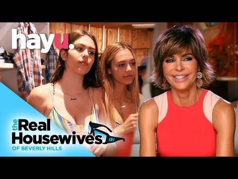 Lisa Rinna's Daughters Work For Money | Real Housewives of Beverly Hills