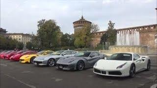 Ferrari Finali Mondiali meeting in Milan !!!