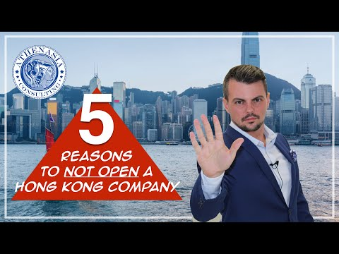 5 Reasons NOT to open a company in Hong Kong (2019)