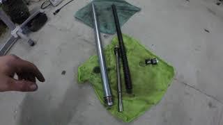 разборка пера вилки lifan lf200 gy-5