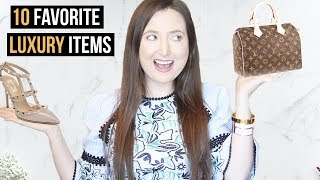 10 FAVORITE LUXURY ITEMS| COLLAB WITH LACE & LASHES