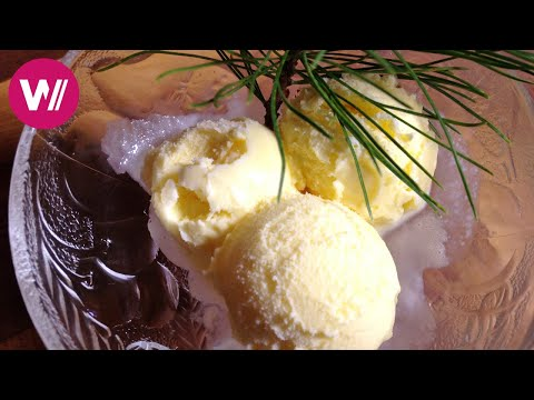 Grisons - Making ice cream with pine wood | What's cookin'