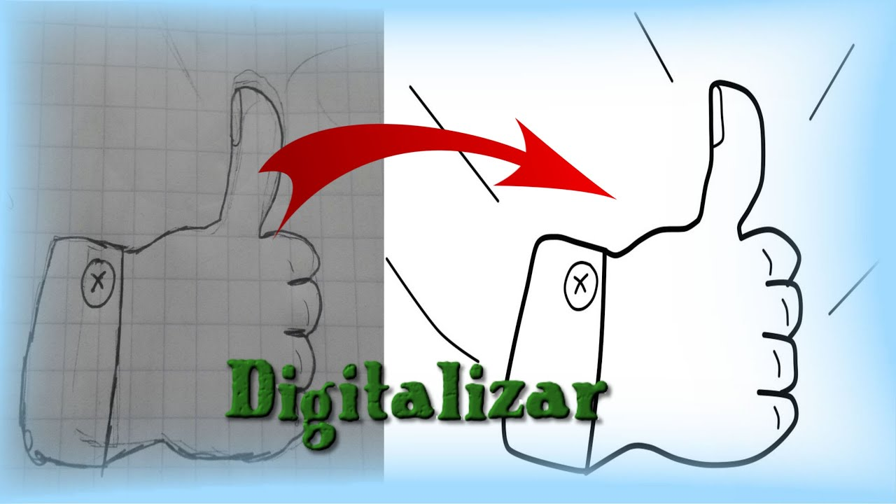 Como Digitalizar un Dibujo Tutorial (Paint tool Sai) - YouTube