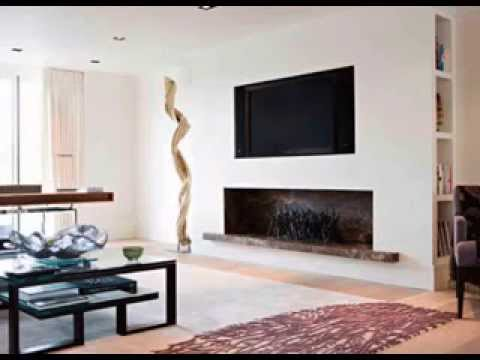 Modern Fireplace Decorating Ideas Photos