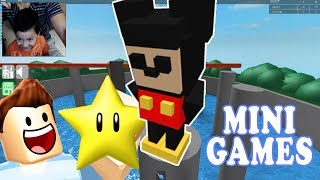 CHILDREN'S MINI-GAMES ? Epic Minigames WITH FRIENDS IN ROBLOX