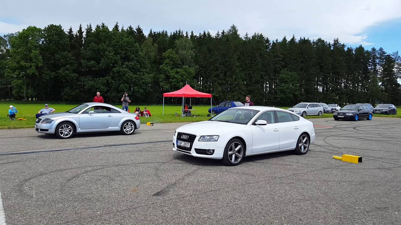 Sprint Audi A5 Vs Tt Audiklub Vol 9 Ventilakce 2016