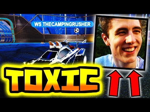 THE MOST TOXIC YOUTUBER IN ROCKET LEAGUE!!