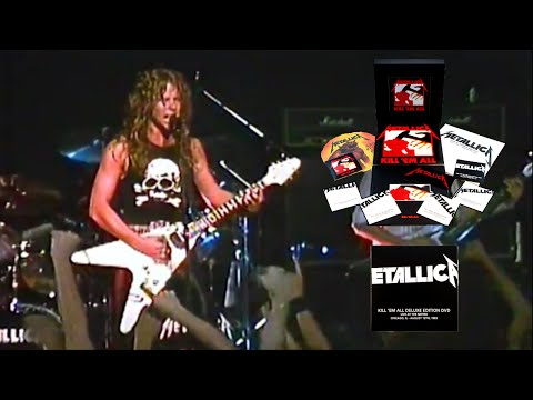 Dvd Live At The Metro Chicago Usa 8 12 1983 Kill Em All Deluxe Edition 2016 Hq Metallica