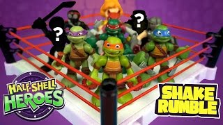 Ninja Turtles Toys Battle Royal ft. Playskool TMNT Ninja Turtles Toys Shake Rumble by KidCity