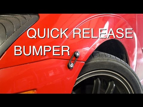 How to Install Quick Release Bumper Fasteners