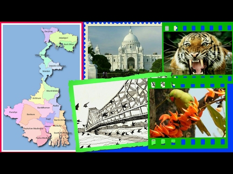 Interesting Facts about West Bengal, India (GK) for WBCS CHEL CAT SSC UPSC IAS CGL RBI Bank PO CHSL