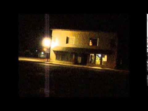 The PSB7 Spirit Box in Muncie Indiana at night