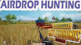 PUBG MOBILE | AIRDROP HUNTING :) ONLY CHICKEN DINNER 😍 FLARE GUN CHAHIYE :)