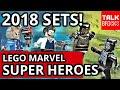 LEGO BLACK PANTHER 2018 OFFICIAL SET PICTURES! 2 NEW SETS! Killmonger! Ulysses Klaue! Marvel