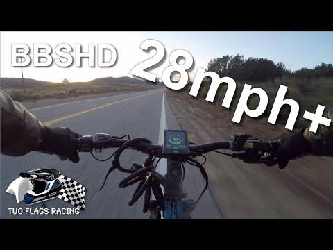 Electric Bike Commute At 28MPH (18 MILES On A 1000 Watt eBike)