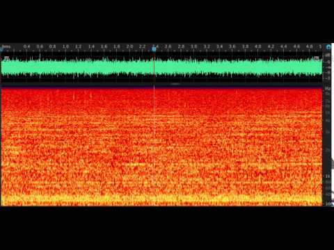 Underwater noise from a large cargo vessel