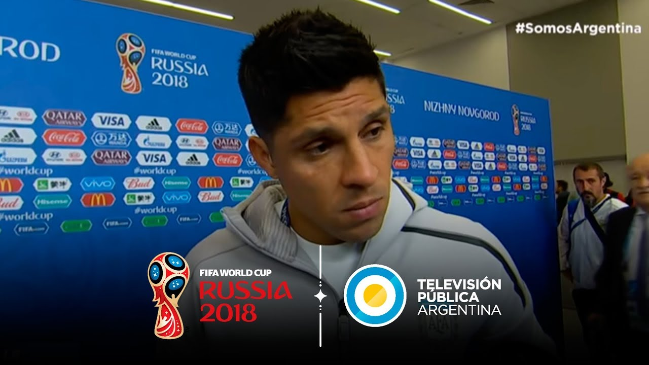 Declaraciones de Enzo Pérez y Sergio Agüero tras la derrota ante Croacia | #Rusia2018