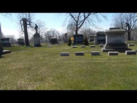 Harold Washington Grave - Chicago Mayor - Oak Woods Cemetery Chicago