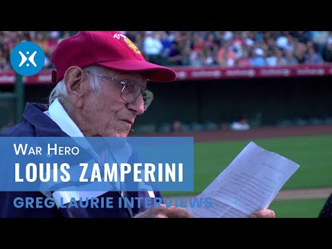 Louis Zamperini  at Harvest Christian Fellowship