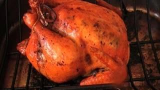 How to Make Sage Roast Chicken with Mushroom Leek Stuffing