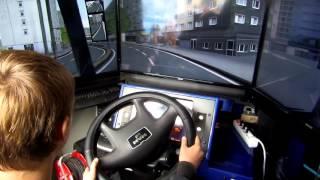 GKI Busz szimulátor a Cinkotai nyíltnapon