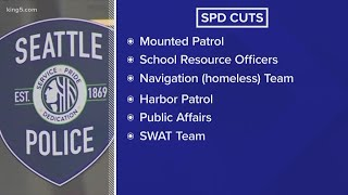 Seattle City Council approves complex package to cut police budget