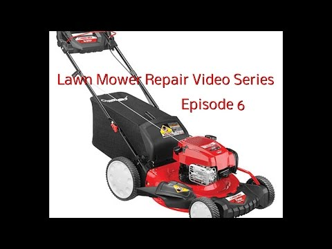 Lawn Mower Repair - How To Drain Bad or Old Gas and Clean Carburetor Bowl and Jet