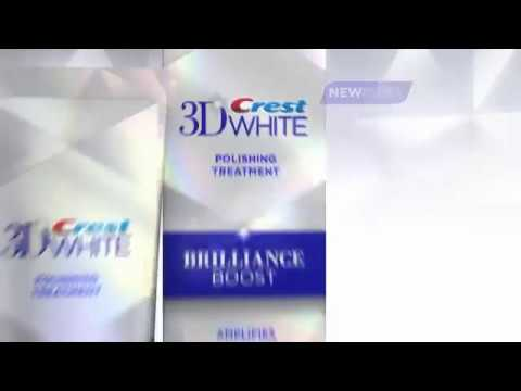 Crest 3D White Brilliance White Commercial featuring Shakira
