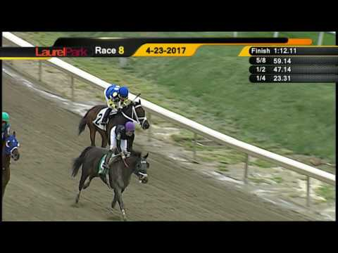 LAUREL PARK 4 23 17 RACE 8
