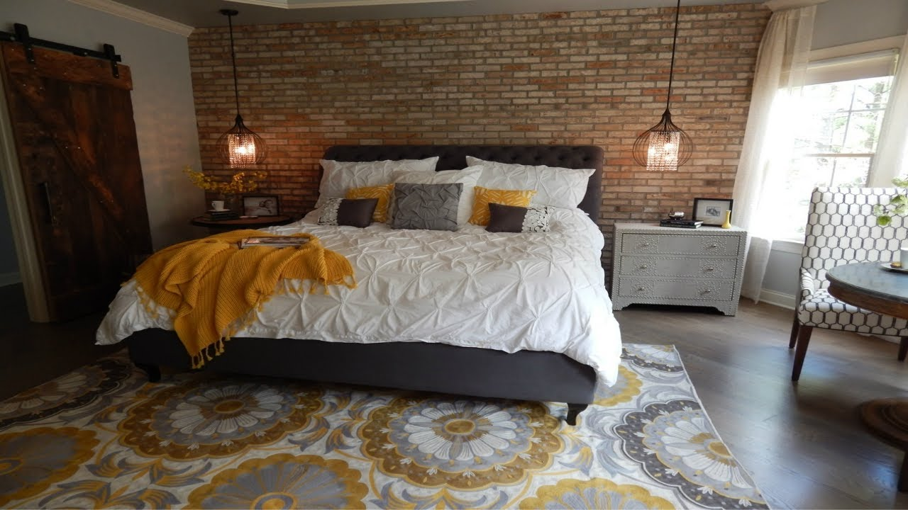 amusing brick accent wall bedroom | Brick Accent Wall | Home Decor Ideas - YouTube