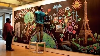 Youth for Change - UNESCO Mural Time-lapse by After Skool