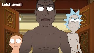 Rick, Morty and The President Challenge Congress | Rick and Morty | adult swim