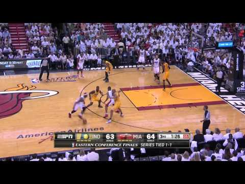 Indiana Pacers vs Miami Heat Game 3 | May 24, 2014 | NBA Eastern Conference Finals 2014
