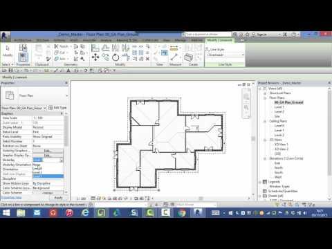Autodesk Revit: Showing overhead lines on your plans