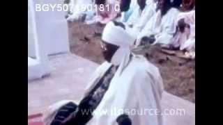 Ahmadiyya Muslims celebrate Eid ul Fitr in Lagos, Nigeria 1969