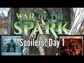 War of the Spark Spoilers Day 1: Liliana, Jace, Tibalt, and More!