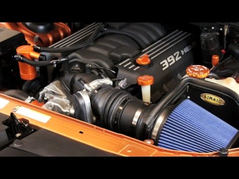 AIRAID Intake For Dodge Charger, Challenger & Chrysler 300 — Installation