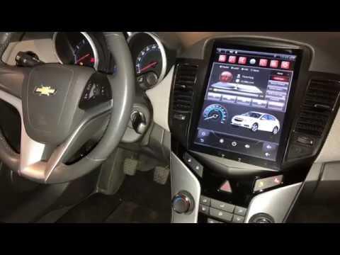"""Chevrolet Cruze 10,4"""" Vertikális Multimédia"""