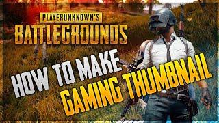 Pubg Gaming Thumbnail