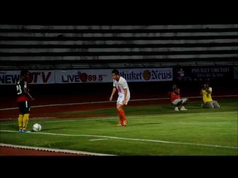 Match Highlights: Phuket FC vs Si Saket FC - Thailand Toyota League Cup (March 1, 2014)