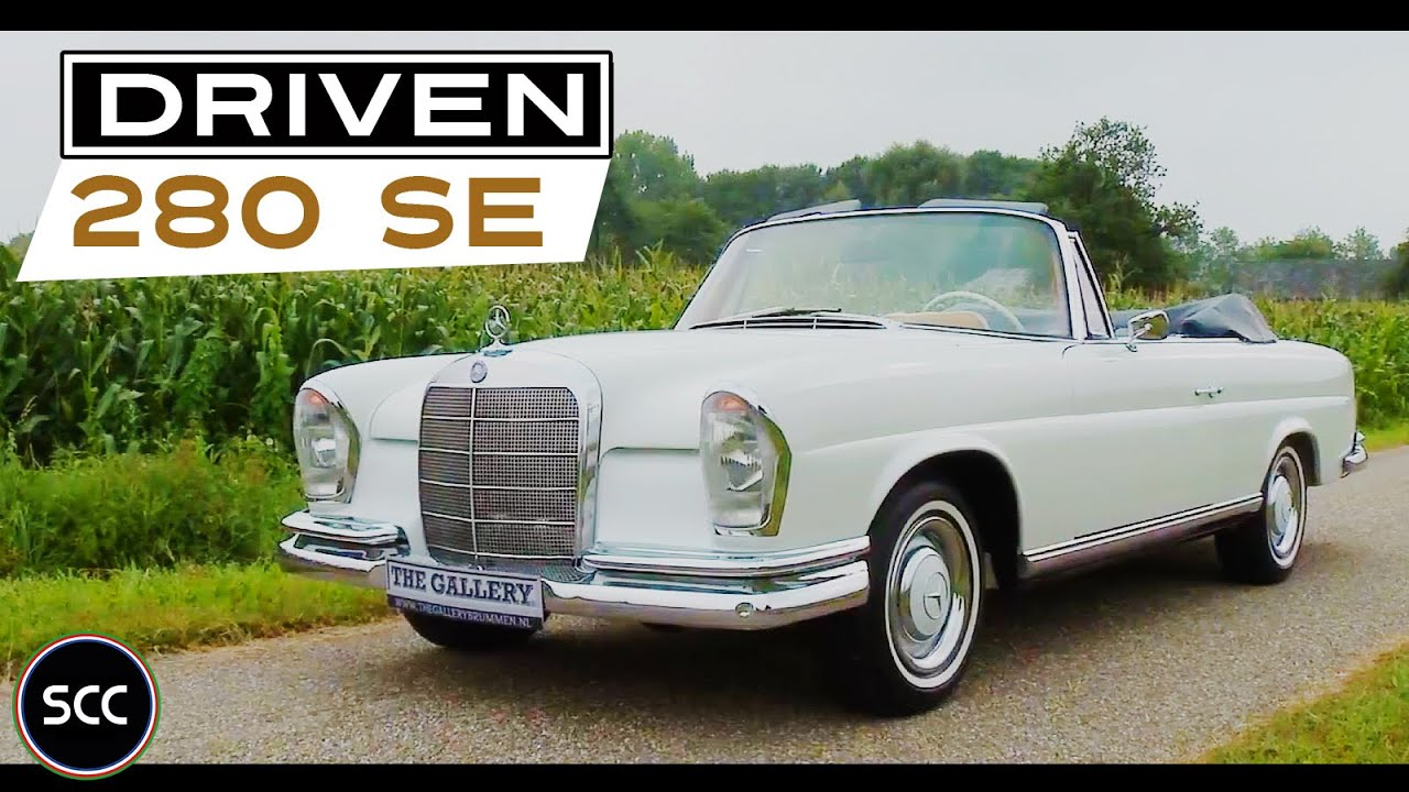 mercedes benz 250 se w111 cabriolet 1967 test drive. Black Bedroom Furniture Sets. Home Design Ideas