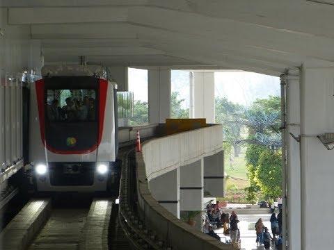 Keren..!! Skytrain Bandara Soekarno-Hatta | Soekarno-Hatta Airport Skytrain