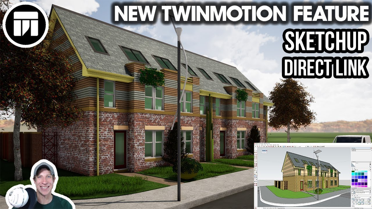 WHAT'S NEW in Twinmotion - SketchUp Direct Link Tutorial