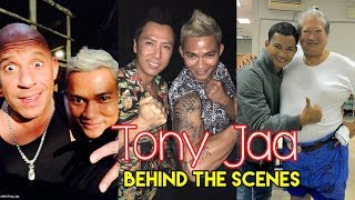 Tony Jaa Behind The Scenes With Famous Hollywood 2016 2017   So Funny