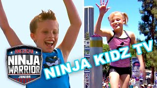 Ninja Kidz TV FASTEST RACES EVER! | American Ninja Warrior Junior | Universal Kids