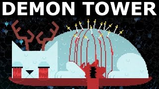 Night In The Woods - Demon Tower Mini Game - Full Walkthrough (All Levels & Ending) (No Commentary)