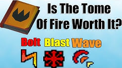 Is Using The Tome Of Fire Worth It? [Old School Runescape]