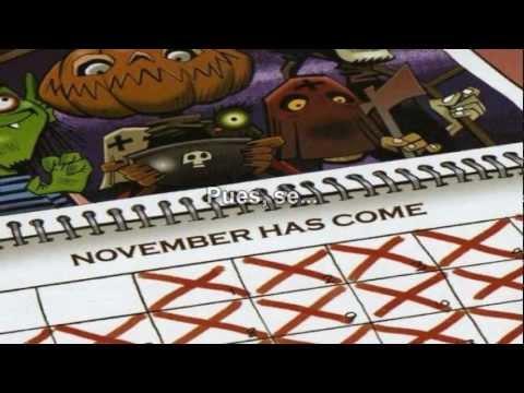 Gorillaz - November Has Come (Visual Oficial) Subtitulado En Español (HD)